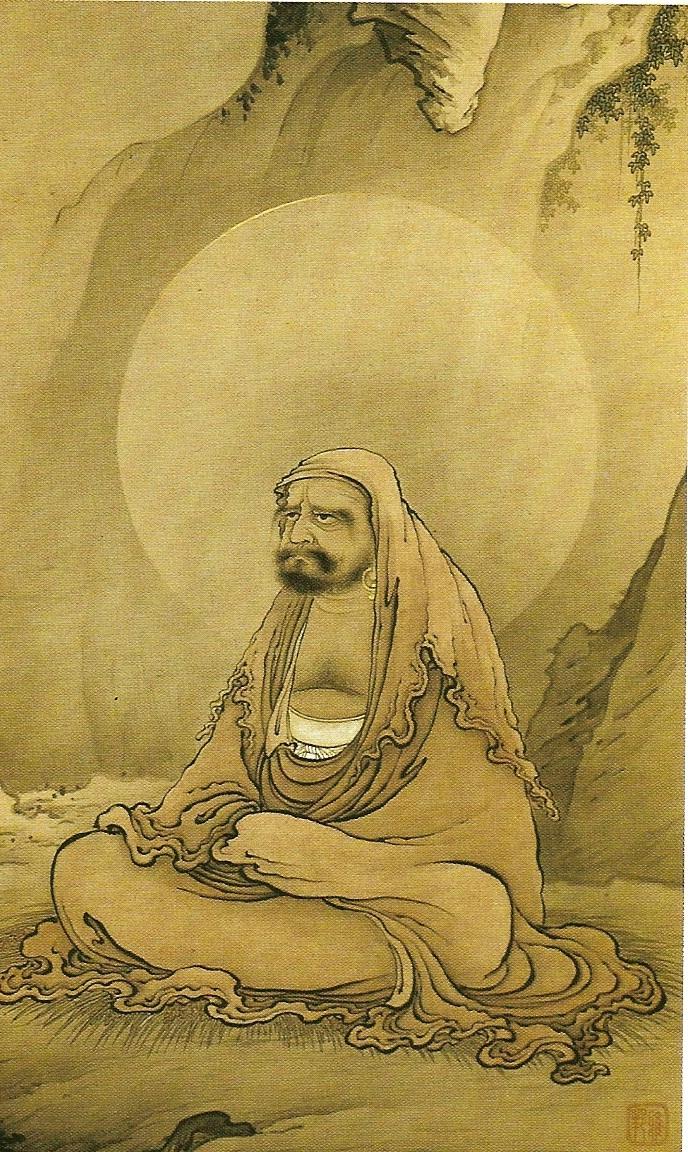 A meditáló Bodhidharma