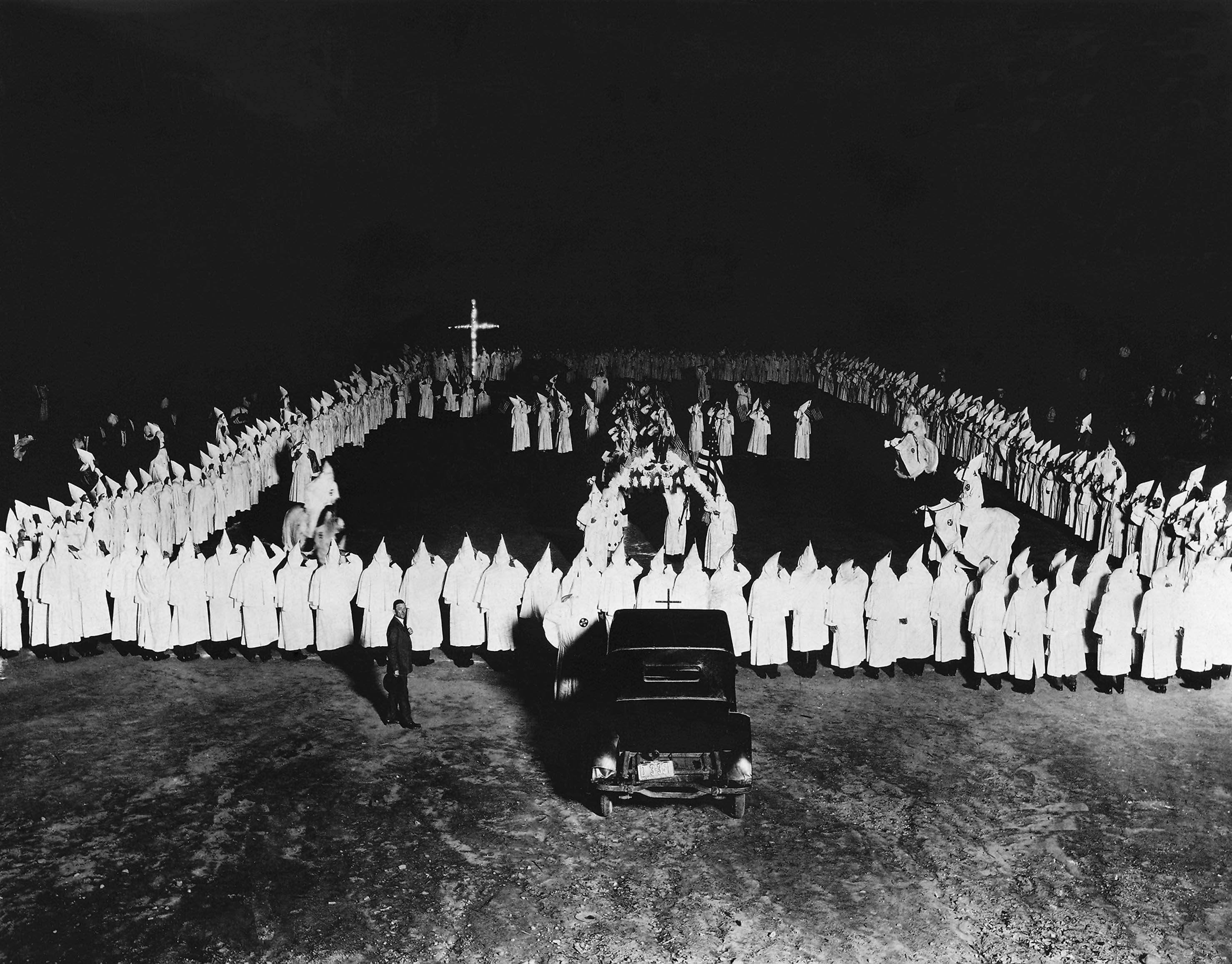 Ku Klux Klan ceremony