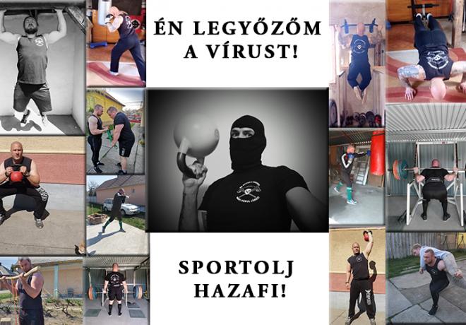 A Betyársereg üzenete: Hazafi sportolj és győzd le a vírust!